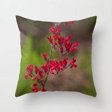 Fleur #3 Throw Pillow