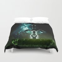 Savior of Hyrule Duvet Cover