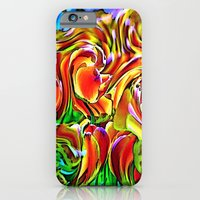 Twisted Tulips iPhone 6 Slim Case