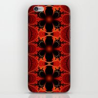 Floral Ribbon iPhone & iPod Skin