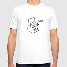 The Internet SMALL White Mens Fitted Tee