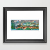 藍色的預言/Blue Prophecy Framed Art Print