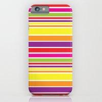 sunshine stripe iPhone 6 Slim Case