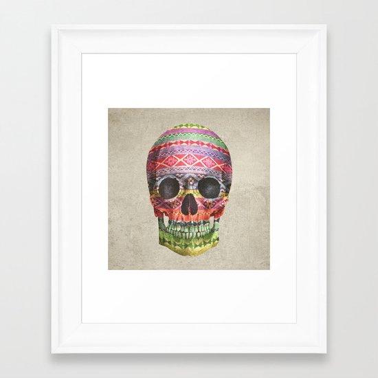 Navajo Skull  Framed Art Print