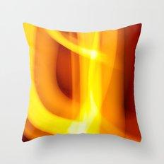 Faster Throw Pillow