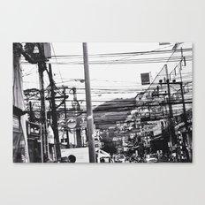The streets of Phuket Canvas Print