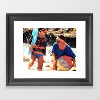 Ready For Spring & Summer Fun! Framed Art Print