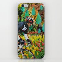 Through the Tulips iPhone & iPod Skin