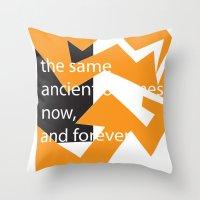 The Same Throw Pillow