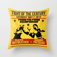 MayPac Throw Pillow