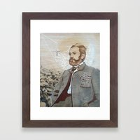 Telepathy Series, The Philosopher Framed Art Print