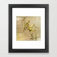 The Man Vegetable Framed Art Print