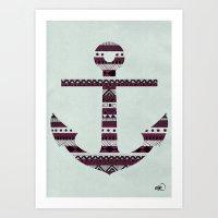 Änchor Art Print