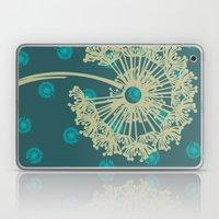 DANDELIONS TURQUOISE Laptop & iPad Skin