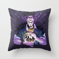 Borderlands: Handsome Ja… Throw Pillow
