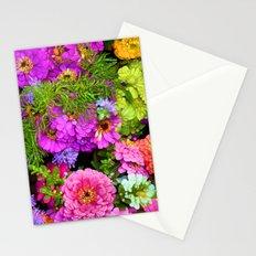 POP Zinnias Stationery Cards
