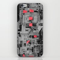 red sheets iPhone & iPod Skin