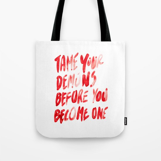 Demons Tote Bag