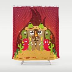 Tacomania Shower Curtain