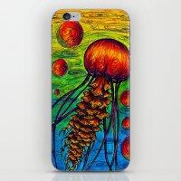 Jelly fish 1  iPhone & iPod Skin
