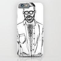 vive les poils iPhone 6 Slim Case