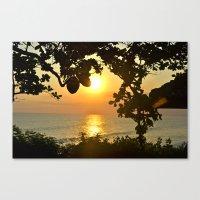 Serenity in Bali Canvas Print
