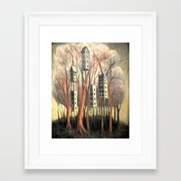 Hi-Rise Wilderness IV Framed Art Print