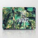 TAKE ME BACK TO PARADISE II  iPad Case