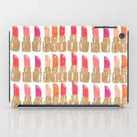 Lipstick! iPad Case