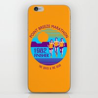 Point Breeze Marathon iPhone & iPod Skin