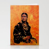 FRIDA KAHLO - the mistress of ARTs - original painting Stationery Cards