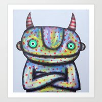 Devil with Good Intentions Art Print