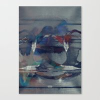 The Parts Of Me That Def… Canvas Print