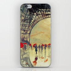 Winter in Paris iPhone & iPod Skin