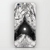 Cosmic Heart Beat 'Mono Dual'   iPhone & iPod Skin