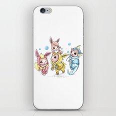 Bursting Bubbles iPhone & iPod Skin