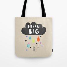 Dream Big, Nursery Art, Children's Art, Kid's Art Tote Bag