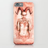 iPhone & iPod Case featuring BABALON (The Scarlet Woman) by Divine Mania