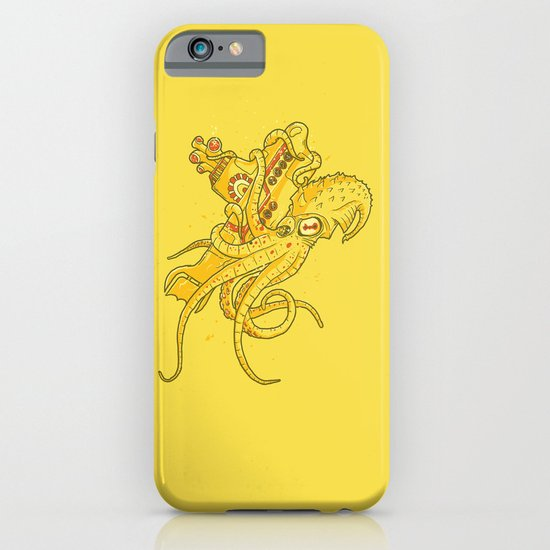 the Yellow Kracken iPhone & iPod Case