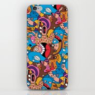 Daily Drawing #1300 iPhone & iPod Skin