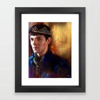 Prince Merlin Framed Art Print
