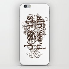 Don't get Stressed. Do get Desserts. iPhone & iPod Skin