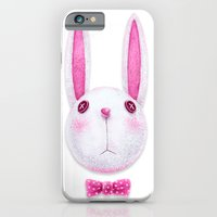 rabbit iPhone & iPod Cases featuring Rabbit by Lime