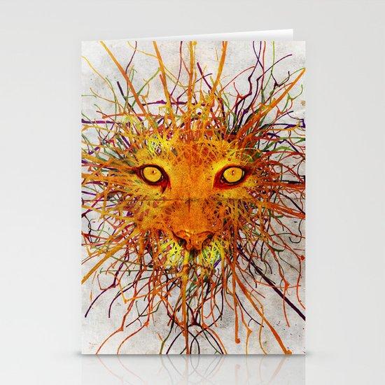 Lion Drip Stationery Card