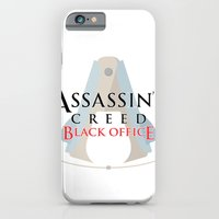 Assassin's Creed Black Office iPhone 6 Slim Case