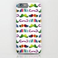 Mustache Party 1 iPhone 6 Slim Case