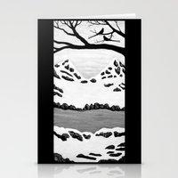 Scissortail Winter Stationery Cards