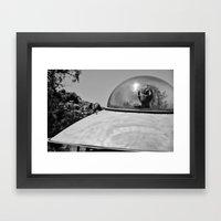 Encounter! Framed Art Print