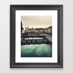 Lucerne, Switzerland Framed Art Print