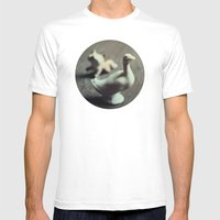 Goose & Fox Mens Fitted Tee White SMALL
